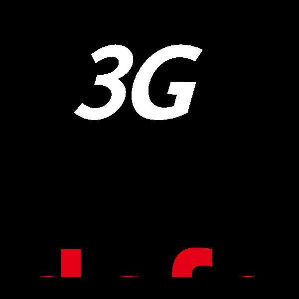 Vodafone 3G Logo ,Logo , icon , SVG Vodafone 3G Logo