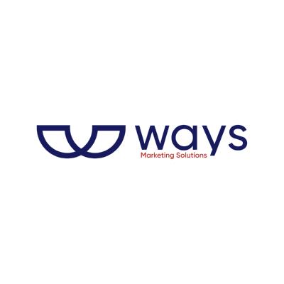 شعار Ways Marketing Solutions   شركة ويز للحلول التسويقية ,Logo , icon , SVG شعار Ways Marketing Solutions   شركة ويز للحلول التسويقية