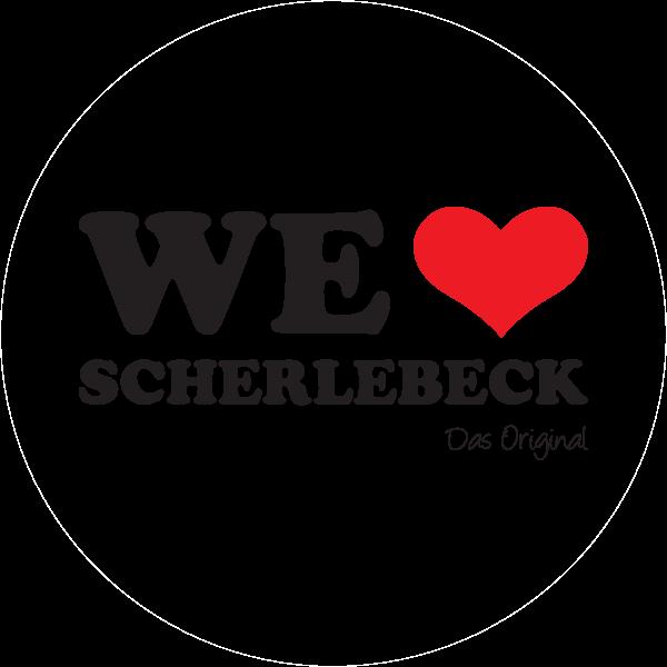 We love Scherlebeck Logo ,Logo , icon , SVG We love Scherlebeck Logo