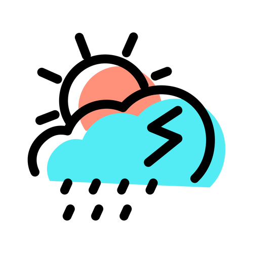 weather ,Logo , icon , SVG weather
