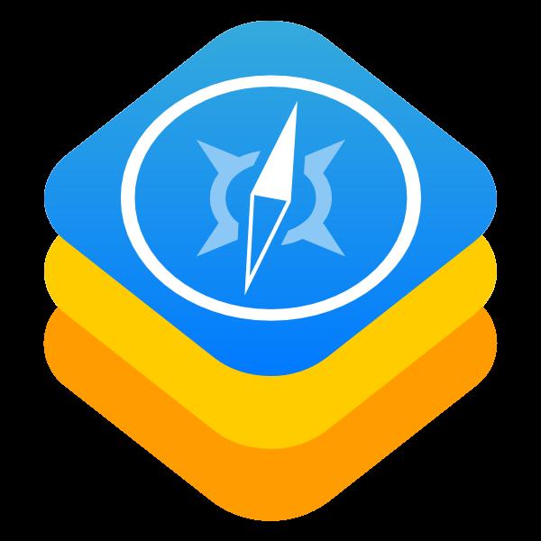 webkit ,Logo , icon , SVG webkit