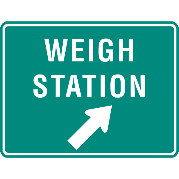 WEIGH STATION SIGN Logo ,Logo , icon , SVG WEIGH STATION SIGN Logo