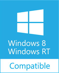 Windows 8/RT Compatible Logo ,Logo , icon , SVG Windows 8/RT Compatible Logo