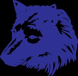 Wolf 1 Wing Logo ,Logo , icon , SVG Wolf 1 Wing Logo