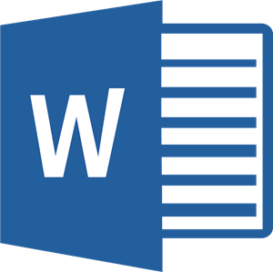 Word Logo ,Logo , icon , SVG Word Logo