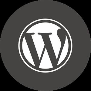 WordPress Icon Logo ,Logo , icon , SVG WordPress Icon Logo