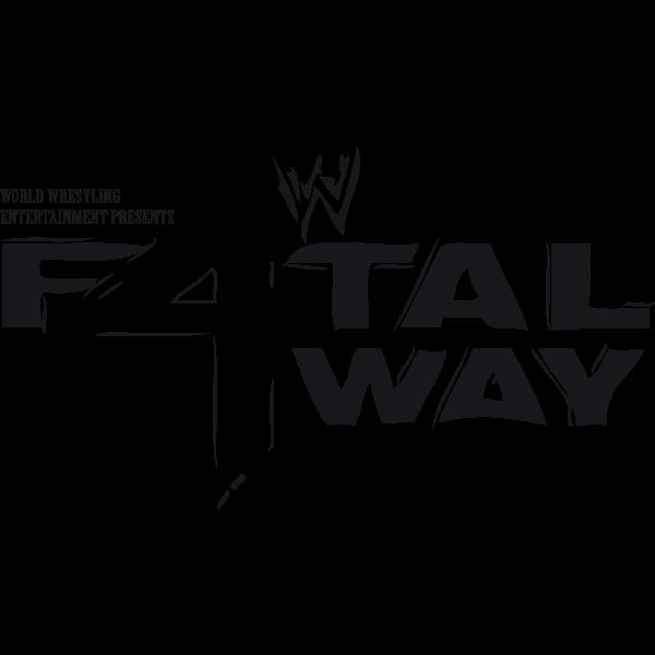 World Wrestling Entertainment Fatal 4-Way Logo ,Logo , icon , SVG World Wrestling Entertainment Fatal 4-Way Logo