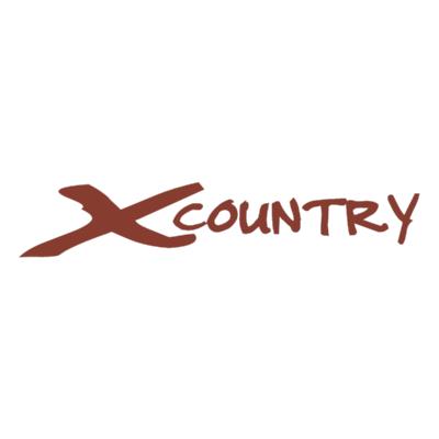 XCountry Logo ,Logo , icon , SVG XCountry Logo