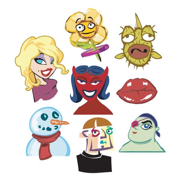 Yahoo Messenger Flirts Category Logo ,Logo , icon , SVG Yahoo Messenger Flirts Category Logo