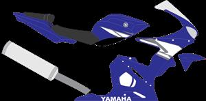 Yamaha R6 Logo ,Logo , icon , SVG Yamaha R6 Logo