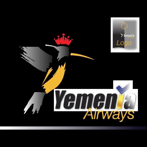 YEMENIA Airways' AirBird – 2010 and beyond… Logo ,Logo , icon , SVG YEMENIA Airways' AirBird – 2010 and beyond… Logo