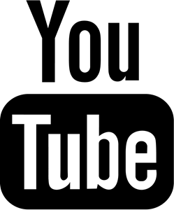YouTube Black Logo ,Logo , icon , SVG YouTube Black Logo