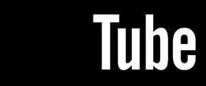 YouTube (black) Logo