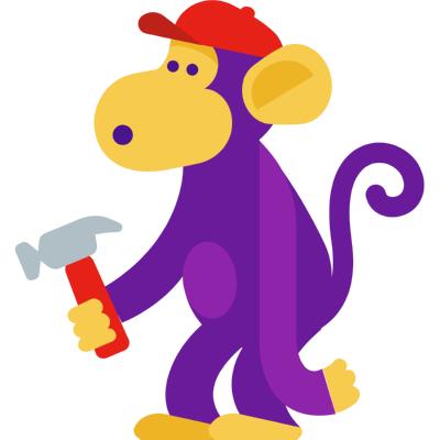 youtube down monkey ,Logo , icon , SVG youtube down monkey