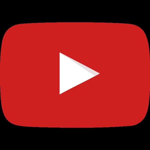 YouTube icon ,Logo , icon , SVG YouTube icon