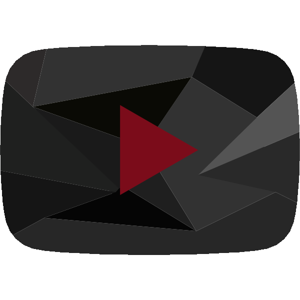 YouTube Red Diamond Play Button ,Logo , icon , SVG YouTube Red Diamond Play Button