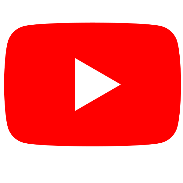 YouTube social white squircle