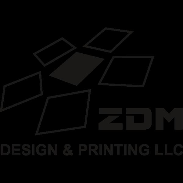 ZDM PRINT Logo ,Logo , icon , SVG ZDM PRINT Logo