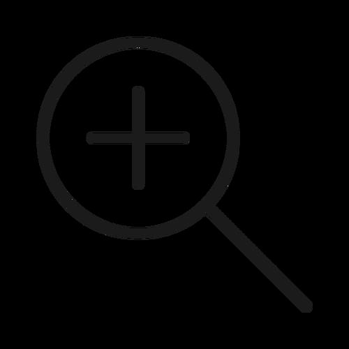 zoom in ,Logo , icon , SVG zoom in